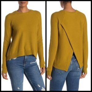 Madewell Province Open Back Sweater Pullover